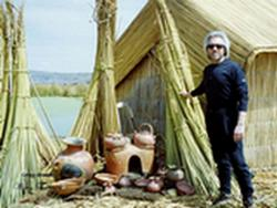 Experience the floating reed islands on Lake Titicaca with Gregg