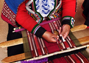 Chincero weaving