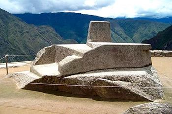 """""""Intihuatana"""" stone"""